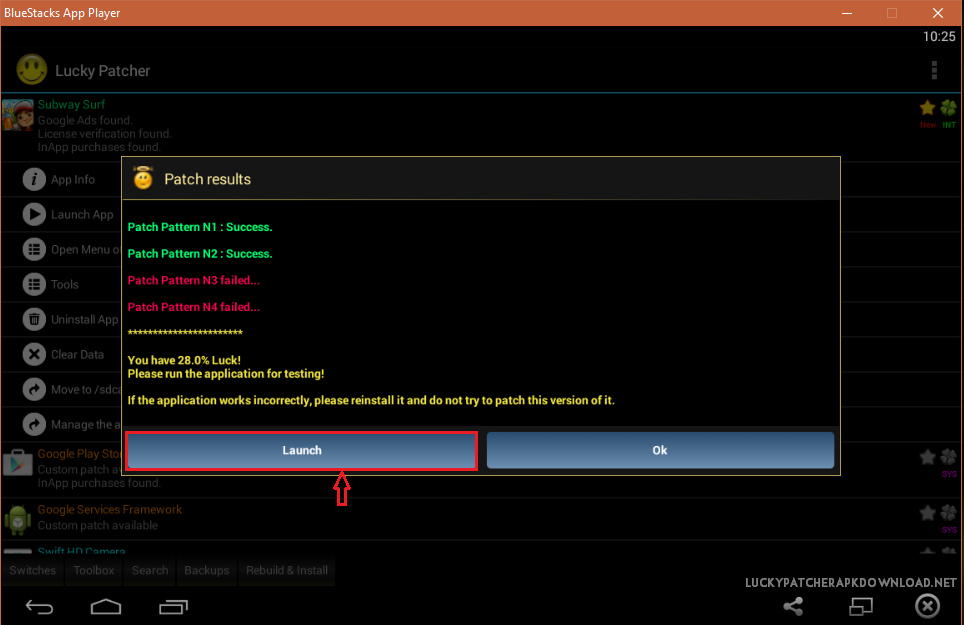 lucky patcher  for windows 8